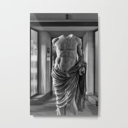 Roman Female Metal Print