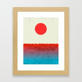 Fukushima Framed Art Print