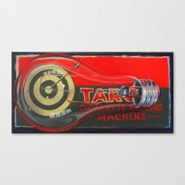 Cigarette Machine Canvas Print
