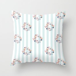 Sacred Feathers Throw Pillow