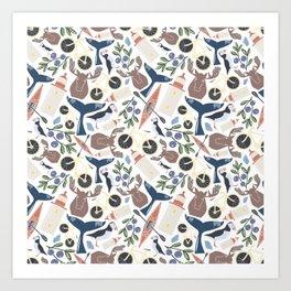 Acadia Pattern 1 Art Print