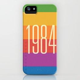 1984 (h) iPhone Case
