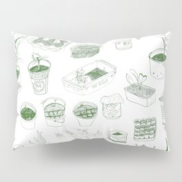 Cover, CONTAIN, Compost - 2 of 3 Pillow Sham