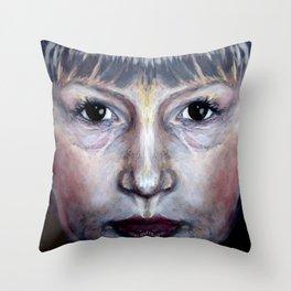 porcelain boy Throw Pillow