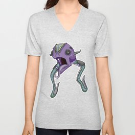 Octo-Seeker Unisex V-Neck