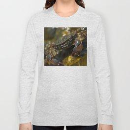 Crab Smiling Long Sleeve T-shirt