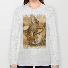 Let Sleeping Cats Lie Long Sleeve T-shirt