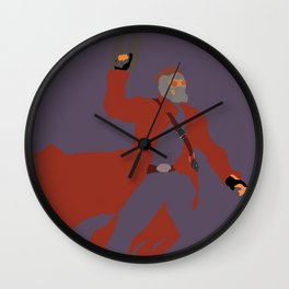 Peter Quill Wall Clock