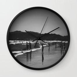 Venice Beach Wall Clock
