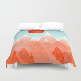Nature on Fire Duvet Cover