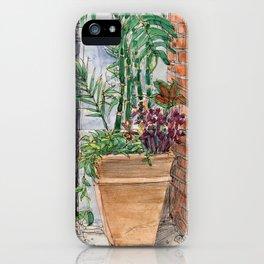 Disneyland Flowerpot in New Orleans iPhone Case