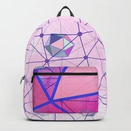 Icosahedron Geometric Shape Constellation Dream Backpack