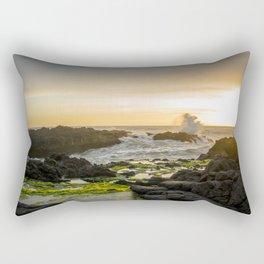 Sunset Horse Rider Rectangular Pillow