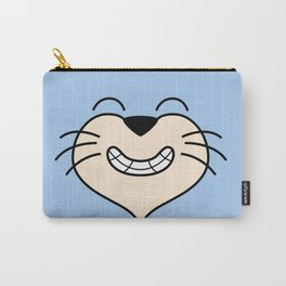 Cat Face 02 Design 03 Carry-All Pouch