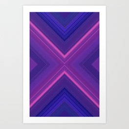 Artificial Purple Art Print