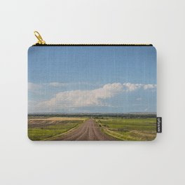 Summer Roads, Glasgow, Montana 3 Carry-All Pouch