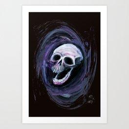 Skull Shirt Design #3 Art Print