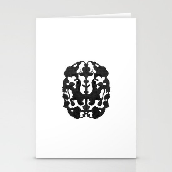 My Brain Hurts Stationery Cards