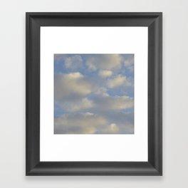 Cloudy Days Framed Art Print