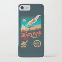 danny ivan iPhone & iPod Cases featuring Crazy Ivan by Victor Vercesi