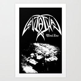 Leviathan Wartime Edition Art Print