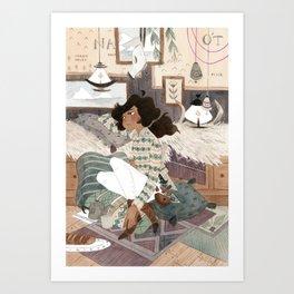 Rahel Art Print