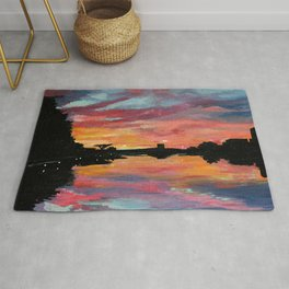 Lake Austin Sunset Rug