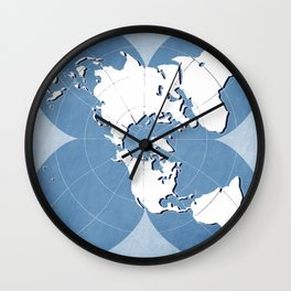 planisphere blue mood Wall Clock