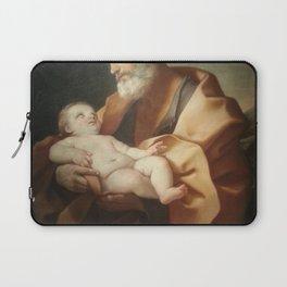 Guido Reni - San Giuseppe col Bambino Laptop Sleeve