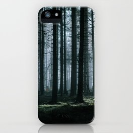 Mystery forest iPhone Case