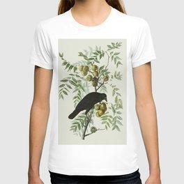 Vintage Crow Illustration T-shirt