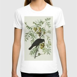 Vintage Crow Illustration T-shirt