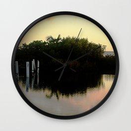 Beauty of Nature 3 @ Rincon Wall Clock