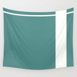 Teal Stripe (1) Wall Tapestry