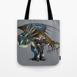 astrid & stormfly HOW TO TRAIN YOUR DRAGON 2 Tote Bag