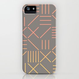 Geometric Shapes 12 Gradient iPhone Case