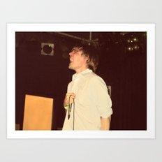 John Maus Live Art Print