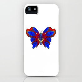 Nautilus Elephant Butterfly iPhone Case