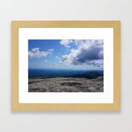 Mountain Blues Framed Art Print