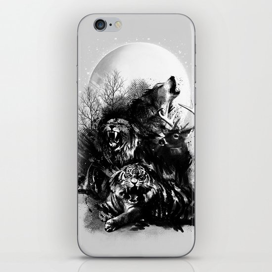 Call of the Wild (GRAY) iPhone & iPod Skin