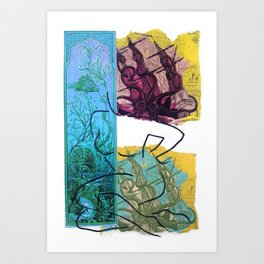 From the Depths Art Print