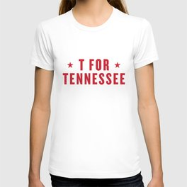 T FOR TENNESSEE T-shirt