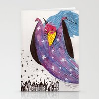 wizard Stationery Cards featuring Wizard by Giang Di Penguin