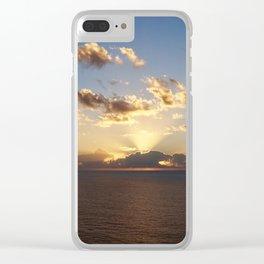 Australian Sunset Clear iPhone Case