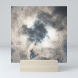 Solar Eclipse in the Smokies Mini Art Print