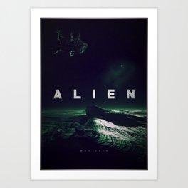 'Alien' film poster Art Print