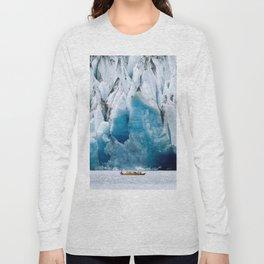Ride to the Alaskan Glacier Long Sleeve T-shirt