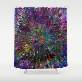 Mimosa Mandala Shower Curtain
