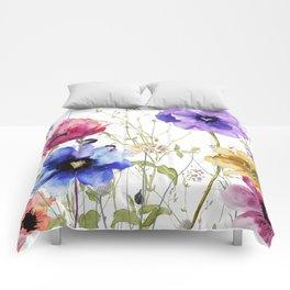 Summer Diary II Comforters