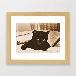 vintage vex Framed Art Print